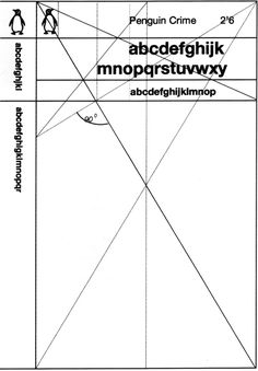 The Marber Grid Wireframe- Click on the image to read all about the man who changed Penguin design in the 60's.