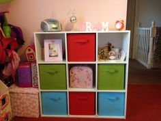 Cubeicals are perfect for organization all around the home - especially the kid's room! #ClosetMaid