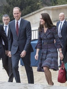 Prince William and Catherine, Duchess of Cambridge visited the Orsay museum in Paris on March 18, 2017 on the second day of their two-day visit to the French capital.