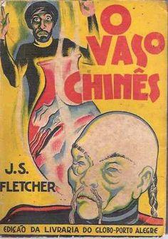Livro Coleção Amarela O Vaso Chinês J.s. Fletcher