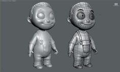 """little boy"" mesh by Pedro Conti"