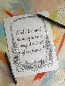 Friends are everything. #love #quotes #color