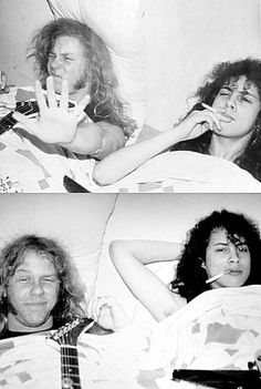 James Hetfield & Kirk Hammett - Metallica