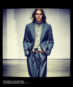 Francisco van Benthum Spring Summer 2014 Menswear Collection
