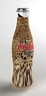 I don't drink Coke but if they really made the bottles like this I may just start to drink it. :)