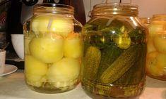 Savanyú paprika, uborka hidegen eltéve Pickles, Cucumber, Salads, Food And Drink, Appetizers, Salad, Appetizer, Pickle, Chopped Salads