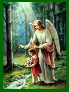 ANGELES ORACIONES Y REFLEXIONES CATÓLICAS: NOVENA AL ANGEL CUSTODIO PARA PEDIR UNA GRACIA