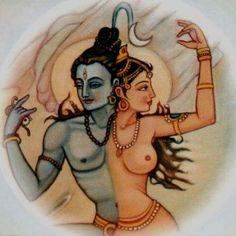 Шива- Парвати  /  Shiva- Parvati - the ultimate re-union of male and female