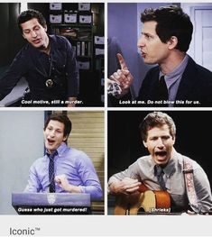 Charles Boyle, Jake And Amy, Jake Peralta, Cop Show, Andy Samberg, Crazy Funny Memes, Brooklyn Nine Nine, Parks N Rec, Tv Quotes
