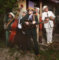 The Cleverlys at Silver Dollar City during Bluegrass & BBQ Festival