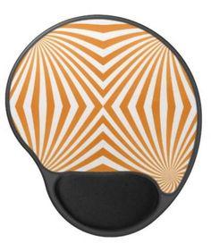 Orange spiral pattern gel mouse pad $14.35 *** Seamless orange color spiral pattern - mousepad