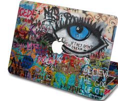 macbook pro decal front sticker macbook air by freestickersdecal, $19.99