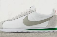 The Nike Cortez Will Also Be Releasing In Ivory And Pine Green