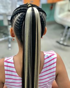 Kids Braided Hairstyles, Little Girl Hairstyles, Cool Hairstyles, Kids Hairstyle, Braids For Kids, Love Me Forever, Ponytail, Hair Beauty, Hair Styles