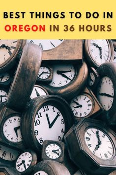 THESE are the best things to do in Oregon when you only have 36 hours to see and do the very best! Oregon City, Oregon Coast, Oregon Trail Game Online, Oregon Wine Country, Oregon Waterfalls, Country Hotel, Things To Do, Good Things, History For Kids