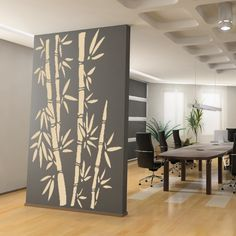 vinyl wall decal bamboo design - Design Wall Decal