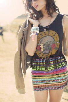 Coachella indy laid back style - Chriselle Lim