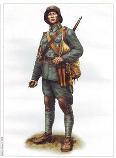 1917 Esercito Popolare Della Repubblica Ucraina (1917) - Stich Stoormtrooper