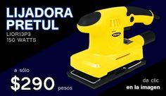 Lijadora Pretul 150 watts a $290 pesos