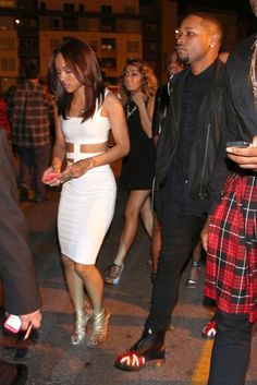 Karrueche Tran is all smiles as she celebrates New Year's Eve at SupperClub