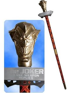 Joker Cane Replica...from the JLA Trophy Room collection...
