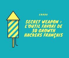 Automation, Analytics, Sales : les outils favoris de 30 Growth Hackers français Growth Hacking, Community Manager, Marketing, Management, Letters, Tools, Fonts, Letter