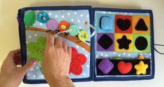 Çocuklar için eğlenceli bir eğitici kitap oyuncak - Okul Öncesi Eğitici Oyuncak Yapımı