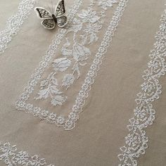 "3,069 Likes, 65 Comments - Berrin Şengöz (@berrin_sengoz) on Instagram: ""Atölyeden...Dantel & Lace...Crossstitch...#crossstitch #kanaviçe #embroidery #nakış#handmade…"""