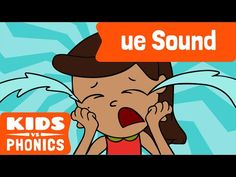 """Help your kids learn the """"ue"""" phonic with this short video!"""