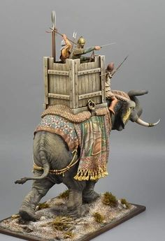 Fawzia Fuad Of Egypt, War Elephant, Elephant Design, Toy Soldiers, Ancient History, Warfare, Gundam, Persian, Weapons