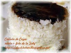 Se face un blat din: - 8 oua, - 300g zahar, - 8 linguri apa, - 250 g faina , - 2 linguri cacao, - 1/2 pachetel praf de copt stins . Se ...