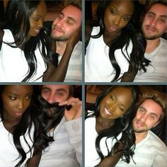 Keep calm and love interracial couples. Interracial Couples, Interracial Dating Sites, Interracial Wedding, Black Woman White Man, Black And White Love, Mixed Couples, Couples In Love, Beautiful Couple, Black Is Beautiful