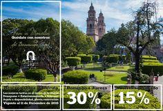 Ven a #Morelia y quédate con nosotros, aquí eres bienvenido! Reserva hoy mismo, te garantizamos el mejor precio! Además desayuno caliente, estacionamiento e internet #SéBienvenidoAquí