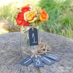 Chalk Board Tags (Set of 10 Ready to Ship) For Table Numbers, Candy Bar, Buffet Table, Etc Tafel-Tisch-Tags Chalkboard Table Numbers, Chalkboard Labels, Chalkboard Wedding, Chalkboard Paint, Fall Wedding, Rustic Wedding, Our Wedding, Wedding Ideas, Wedding Tables