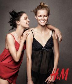 H&M Campaign Holiday 2010 - Mariacarla Boscono and more by Daniel Jackson