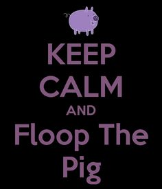 KEEP CALM AND Floop The Pig  - Adventure Time, Card Wars