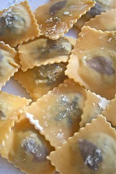 Alessandra Zecchini: Lentil and flowers Ravioli with Fennel Butter