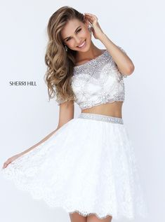 Sherri Hill dresses are designer gowns for television and film stars. Find out why her prom dresses and couture dresses are the choice of young Hollywood. Sherri Hill Prom Dresses, Lace Homecoming Dresses, Prom Dresses 2017, Gown 2017, Prom Gowns, Pageant Dresses, Party Dresses, Wedding Gowns, Evening Dresses