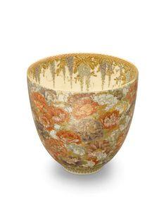 Yabu Meizan (1853-1934) A fine and deep Satsuma bowlMeiji era (1868-1912), circa 1900-1910