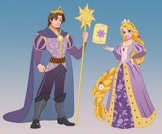 Rapunzel and Flynn for our Reign Series! By my amazing friend ? seriously one of my favorite new series, classy and… Disney Art, Disney Pixar, Disney Jokes, Disney Princess Art, Arte Disney, Disney And Dreamworks, Disney Animation, Disney Cartoons, Disney Magic