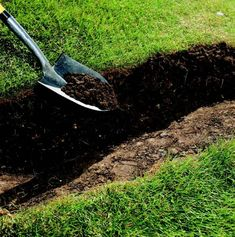 Drainage Swale 2 - All About Backyard Drainage, Landscape Drainage, Rain Garden, Lawn And Garden, Drainage Solutions, Drainage Ideas, Water Solutions, Outdoor Landscaping, Outdoor Gardens