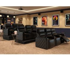 Different home theater seating choices for you to discover. See a lot more ideas about Home theater seats, Home theater as well as Theater seating.