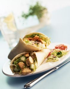 Quorn Tortilla Wrap. This is a personal fave of mine. It's great that you can freestyle this if there's ingredients you don't like or wish to add :)
