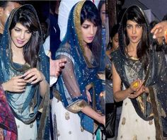 Priyanka Chopra was recently spotted seeking divine blessings at Andheri Cha Raja and was dressed in an ethnic suit. for more news on latest bollywood movies, Bollywood News In English,Hollywood  movies,Bollywood Masala In English,Bollywood Pictures,latest bollywood movies,bollywood movies Review,priyanka chopra..