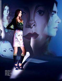 Gaby Loader for Tatler Magazine (June 2014) photo shoot by Kate Davis-Macleod #Gaby_Loader