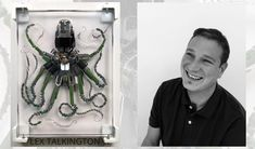 Software engineer & designer Lex Talkington brings found objects to life.
