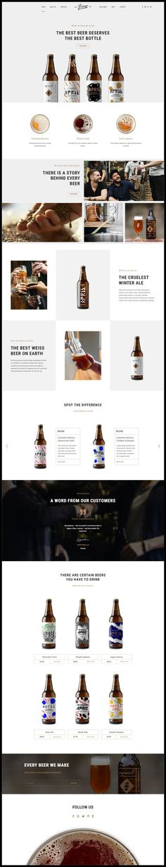 Buy Craft Beer - Brewery & Pub WordPress Theme by BoldThemes on ThemeForest. Craft Beer – Brewery, Beerhouse, Pub or Beer Bar WordPress Theme Craft Beer is a WordPress theme exclusively built fo. Web Design, Site Design, Beer Offers, Beer Decorations, Beer Factory, Beer Store, Beer Art, Beer Brewery, Beer Festival