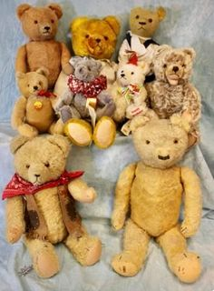 Teddy Bears from the 1920's