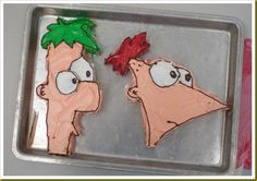 Phineas and Ferb cakes