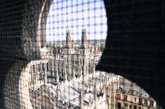 Oxford - Finnish Travel Blog. The university of Oxford viewed from the tower of the University church of St Mary.